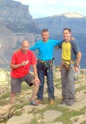 Amb en Joan Brunet i en Joaquim Gil