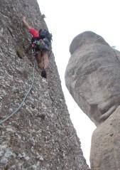 6è. Llarg. A veure si ens recordem d'escalar en lliure...