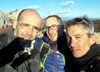 Amb en Joan Brunet i en Xavi Oliva