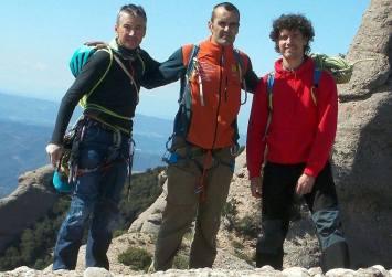 Amb en Josep Climent i l'Octavi Puntas