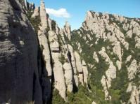 Vista del Coll del Migdia, des de la Paret