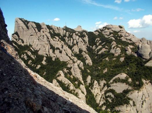 Vista de Sant Jeroni, des de la Paret