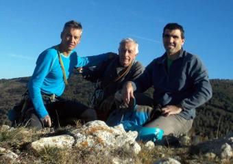 Amb en Remi Brescó i en Lluís Parcerisa