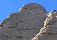 """5è. Llarg. Excel·lent foto en perspectiva, presa per la cordada navassenca """"PepetsTeam"""", en baixant de fer la Francesc Casanova"""
