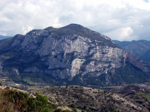 La Penya Narieda, vista des de Montanissell