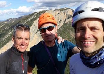 Amb en Joaquim Gil i en Jordi Ceballos