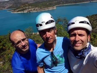 Amb en Joan Brunet i en Jordi Ceballos