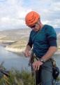 Una escalada més, per l'home que més vies en solitari deu haver obert en aquest país!