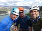 Amb en Joaquim Gil i en Jordi Ceballos Villach
