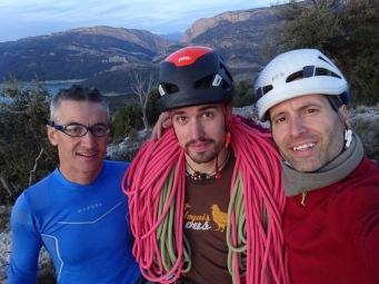 Amb l'Octavi Puntes i en Jordi Ceballos
