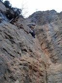 9è. Llarg. Si tots fossin com aquest, l'escalada tindria més adeptes!