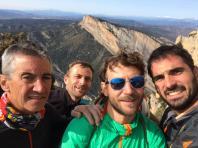 Amb em Marc Busquets, en Damià Santiveri i n'Eduard Ferrer